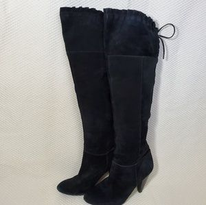 BCBG Generation Suede Over-the-Knee Boots